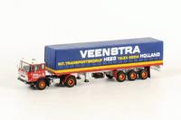 Daf 2600 Classic Huifoplegger Veenstra Heeg, Wsi Models 1/50 14-1007
