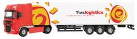 Daf XF 105 Camión Trailer Joal 390 escala 1/50