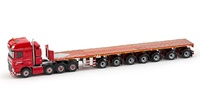 Daf XF SSC + Ballastrailer Nooteboom Wsi Models 567.22.51