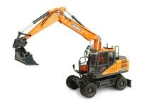 Doosan Dx 160w excavadora Universal Hobbies 8134 escala 1/50