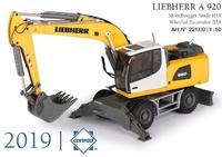 Excavadora Liebherr R 920 Conrad Modelle 2217 escala 1/50