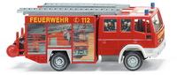Feuerwehr - LF 16/12 Iveco EuroFire Wiking 6110337 Masstab 1/87