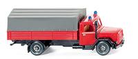 Feuerwehr - Pritschen-LKW Magirus Mercur 8610935 Wiking 1/87