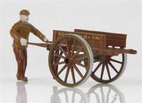 Figur mit Handwagen Lion Toys 1/50