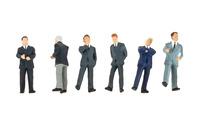 Figuras Hombres en traje, Preiser 68213 escala 1/50
