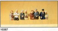 Figuras Sentadas Autobus Preiser 1/87