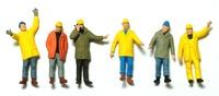 Figuren Industriearbeiter Preiser 68214 Masstab 1/50