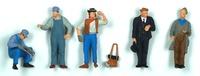 Figuren US Arbeiter und Schaffner Preiser 65342 Masstab 1/43