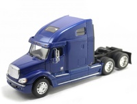 Freightliner Columbia azul Welly 32620 escala 1/32