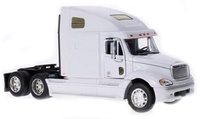Freightliner Columbia blanca Welly 32620 escala 1/32