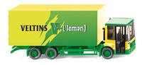 Getränkekoffer-LKW (MB Econic) Veltins V+(lemon), Wiking 1/87
