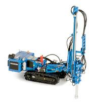 HBR 605 Hydraulic Drill  RIG azul Ros Agritec 002104 escala 1/50