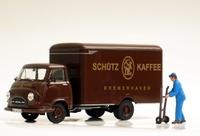 Hanomag Kurier 1960 Schuetz Kaffee  Norev 820521 Masstab 1/43