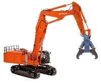 Hitachi Zaxis 1000k 3 excavadoras cadenas con pinza demolición NZG 781 escala 1/50