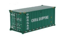 Hochseecontainer 20 Fuss - China Shipping -  Diecast Masters 91025c