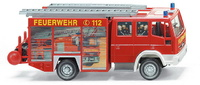 Iveco Eurofire LF16/12 Bomberos Wiking 6110337 escala 1/87