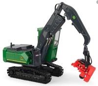 John Deere 3156G maquina forestal Ertl 45608 escala 1/50