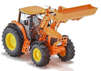 John Deere 7430 + cargador + accesorios Wiking 77342