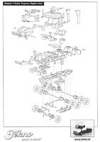 Kit Scania 4-serie Torpedo Topline Tekno 55064 escala 1/50