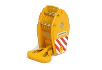Kranhaken - mit 5 Seilrollen gelb 108 ton, Yc212-2