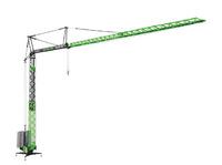 "Liebherr 81 K ""Volk Bau"" grúa de montaje rápido Nzg 870/02 escala 1/50"