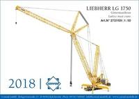 Liebherr-Gittermast-Mobilkran LG 1750, Conrad Modelle 2737/09