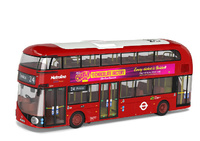 London Double Decker Metroline Charlie & The Chocolate Factory Corgi Om46609b escala 1/76