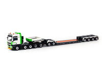 MAN TGX XXL Nooteboom 4-axle EURO-PX + 2-axle ICP  Wsi Models 01-1506 Masstab 1/50