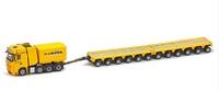 MB Actros BigSpace 8x4 + ballast box + Kamag K25 2x6 Van Riel Imc Models 0107