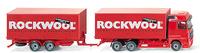 MB Actros Camión con remolque, Rockwool, Wiking 05990642