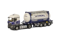 MB Actros Stream Space + 20ft Swap body Pañalon Wsi Models 01-1865