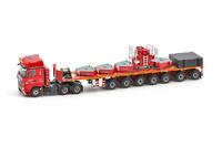 MB Actros2 Gigaspace 6x4 - Nooteboom Ballastrailer 7 axle+ ballastset Imc Models