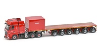 MB Actros2 Gigaspace 8x4 - Nooteboom Ballastrailer Imc Models