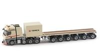 MB Actros2 Gigaspace 8x4 - Nooteboom Ballastrailer - Terex - Imc Models