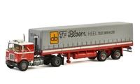 Mack F700 + tautliner Bloem Wsi Models escala 1/50