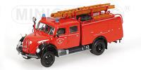 Magirus-Deutz Merkur A, TLF 16, 'Feuerwehr Düsseldorf' Minichamps 439141074 Masstab 1/43