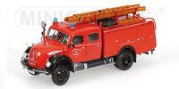 Magirus-Deutz Merkur A, TLF 16 Feuerwehr Düsseldorf Minichamps 439141074 Masstab 1/43