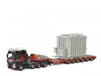 Mammoet Man tgx xxl + plataforma baja 6 ejes y carga - Wsi Models