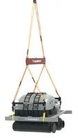 Mammoet set de carga de un generador Weiss Brothers 410216