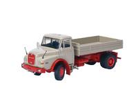 Man HAK 16.192 con plataforma gris/rojo Conrad Modelle 1054 Masstab 1/50