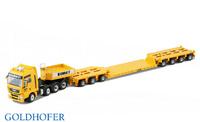 Man Tga xxl 8x4 + modulo 3 ejes + modulo 4 ejes y puente Bohnet, Conrad Modelle 70189 escala 1/50