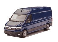 Man Tge delivery Conrad Modelle 1615/03 escala 1/50