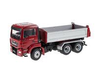 Man Tgs M Euro 6 mit Meiller Dreiseitenkipper 3-achs Conrad Modelle Masstab 1/50