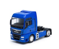 Man Tgx 18.440 (4x2), azul Welly 32650 escala 1/32