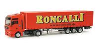 Man Tgx xxl tautliner Circus Roncalli Herpa 155892 escala 1/87