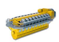 Man - motor diesel de 18 cilindros Conrad Modelle 98014/02