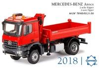 Mercdes Arocs mit Ladekran Conrad Modelle 78165/03