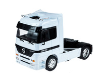 Mercedes Actros 1857 blanco Welly 32280W escala 1/32