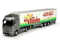 Mercedes Actros Gigaspace + frigo Belle Fleur Tekno 67073 escala 1/50