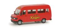 "Mercedes-Benz 308 D Bus ""Circus Krone"" Herpa 048231 escala 1/87"